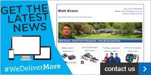 Matt Evans Newsletter banners