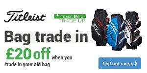 Get £20 off a new Titleist bag
